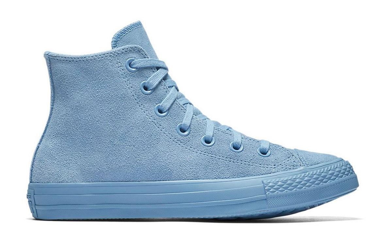 Converse Chuck Taylor All Star Mono Suede Leather Hi tyrkysové C561729 - vyskúšajte osobne v obchode