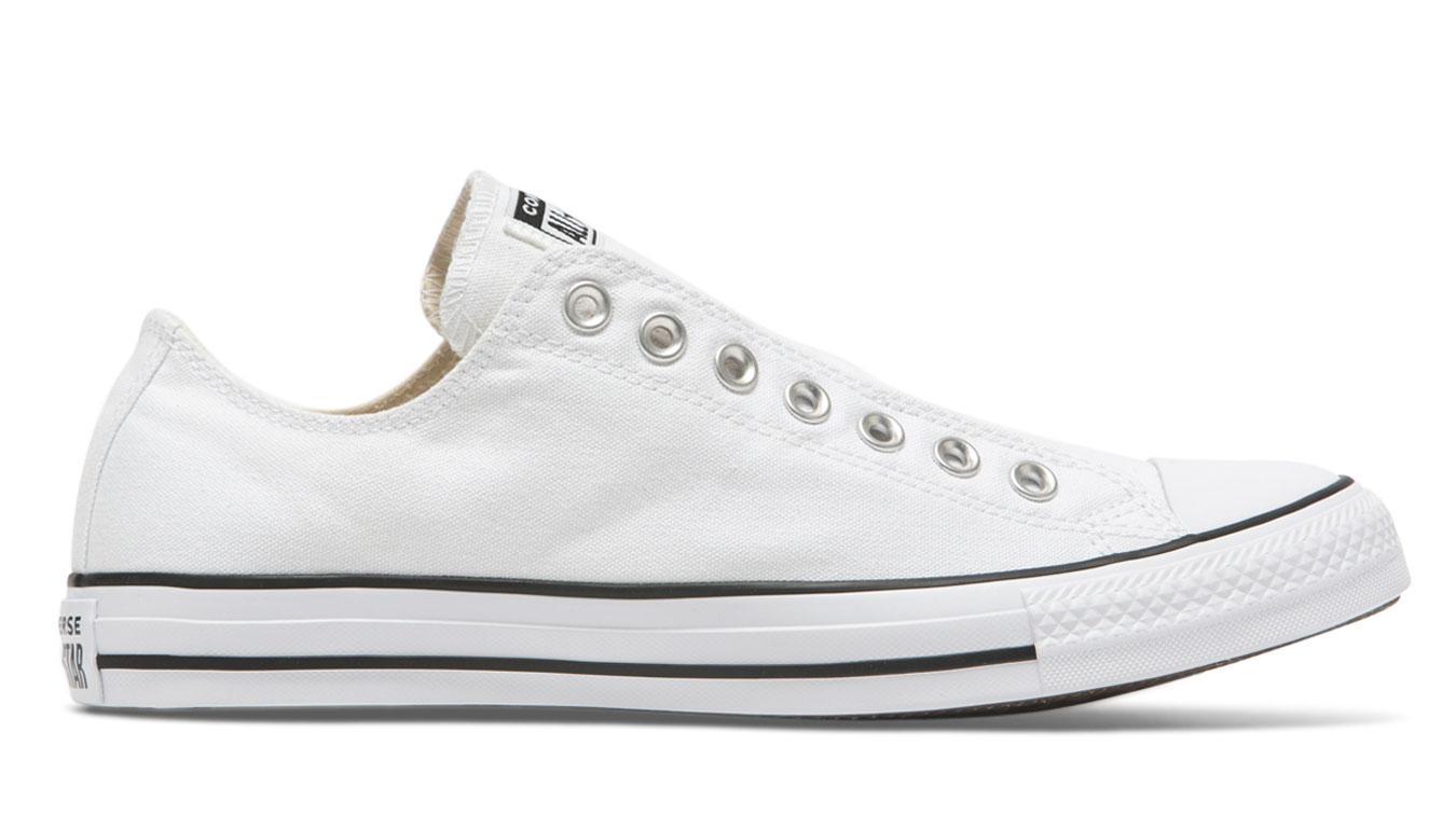 Converse Chuck Taylor All Star Slip On biele 164301C - vyskúšajte osobne v obchode