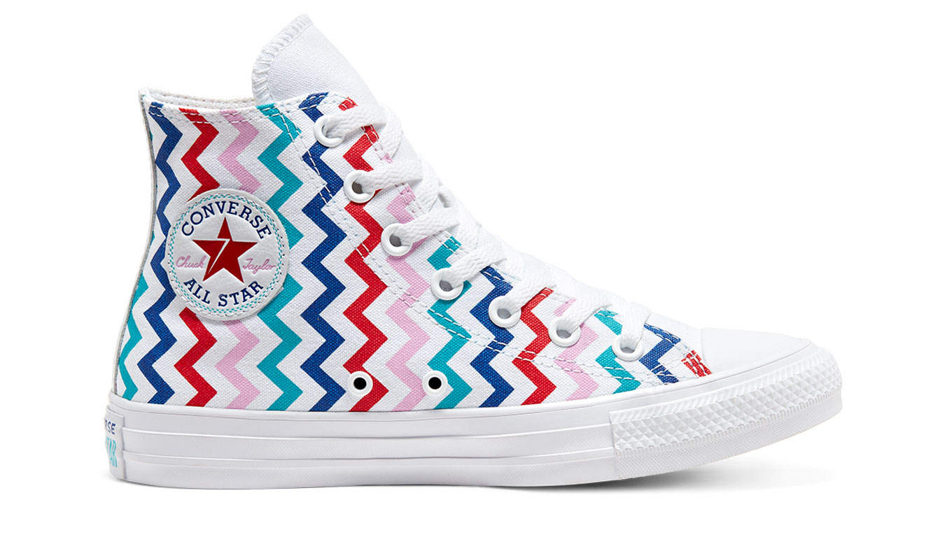 Converse Chuck Taylor All Star Voltage Hi Top biele 567046C