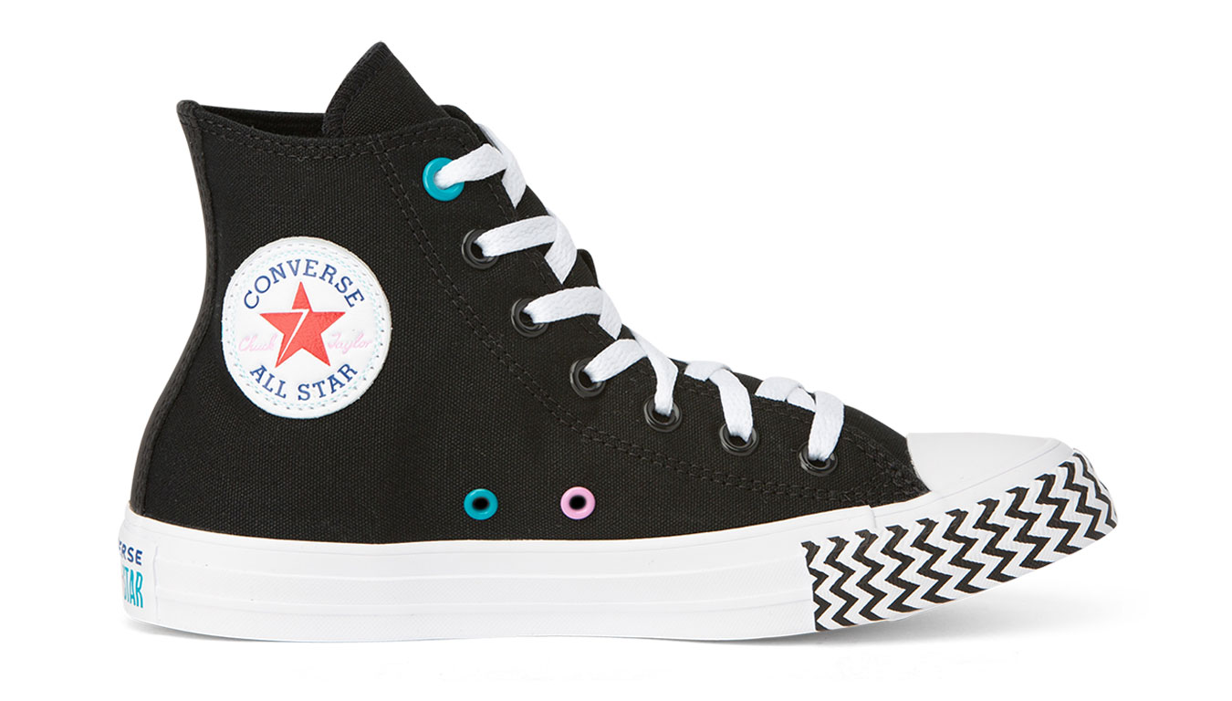 Converse Chuck Taylor All Star Voltage Hi Top čierne 566731C