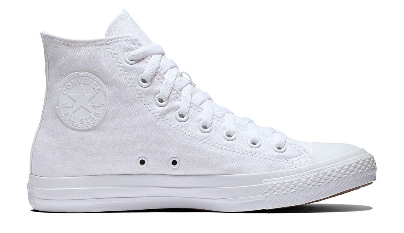Converse Chuck Taylor All Star White Monochrome Hi biele 1U646 - vyskúšajte osobne v obchode