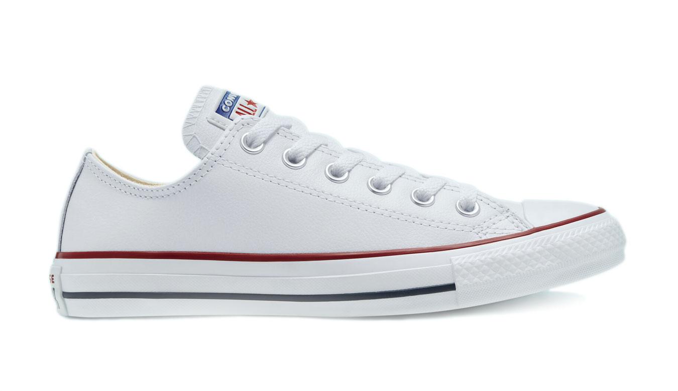 Converse Chuck Taylor Leather White biele 132173C - vyskúšajte osobne v obchode