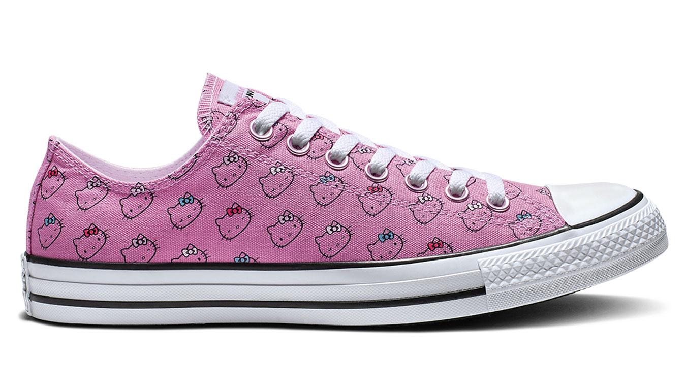 Converse Chuck Taylor x Hello Kitty pack ružové 164631C - vyskúšajte osobne v obchode