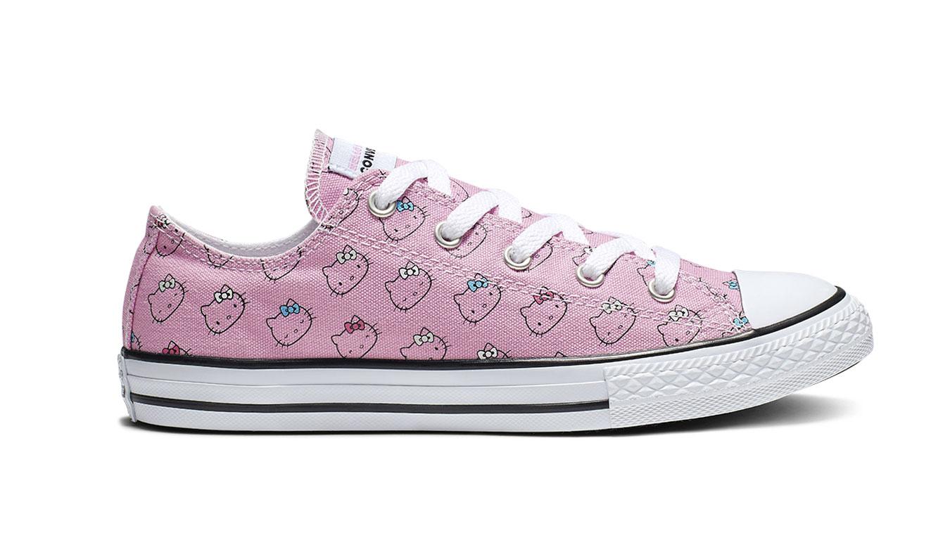 Converse Chuck Taylor x Hello Kitty pack ružové 664638C - vyskúšajte osobne v obchode