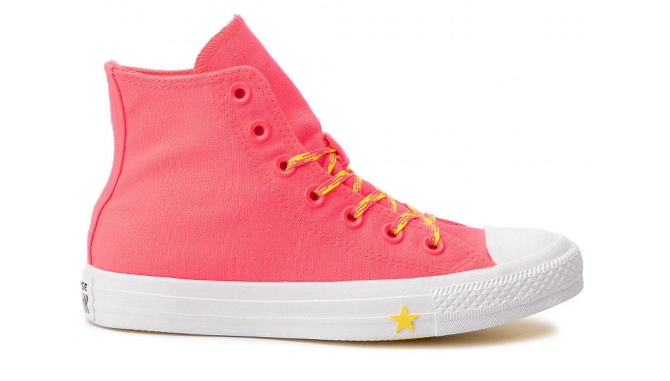 Converse CTAS HI Pink červené 564122C - vyskúšajte osobne v obchode