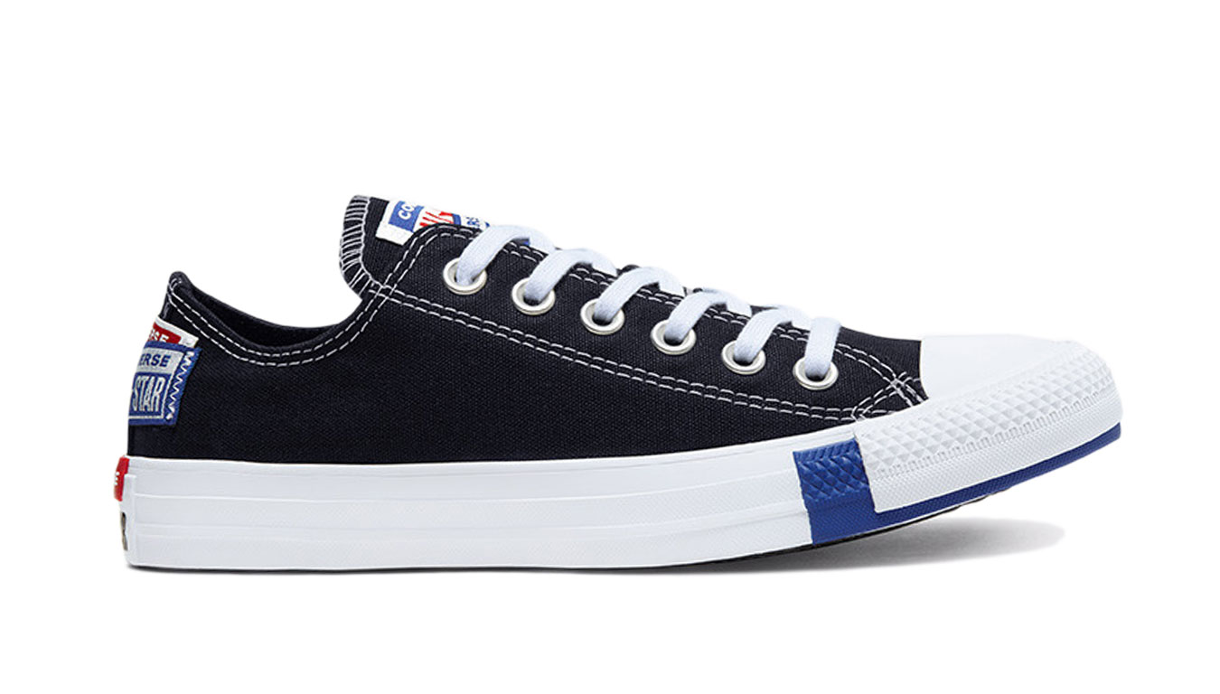 Converse Logo Play Chuck Taylor All Star Low Top čierne 166738C