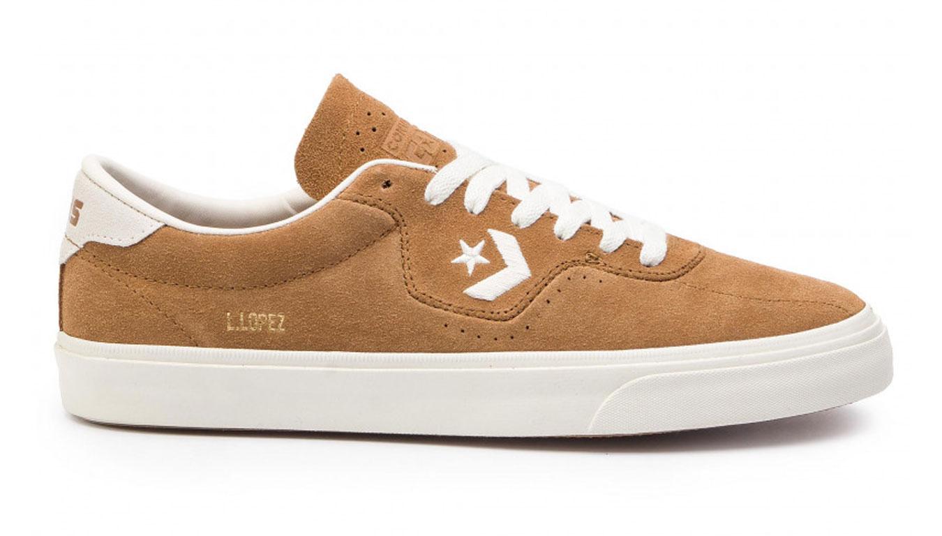 Converse Louie Lopez Pro OX hnedé 164164C - vyskúšajte osobne v obchode
