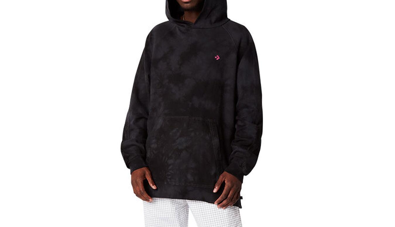 Converse Marble Pullover Hoodie čierne 10021488-A02 - vyskúšajte osobne v obchode