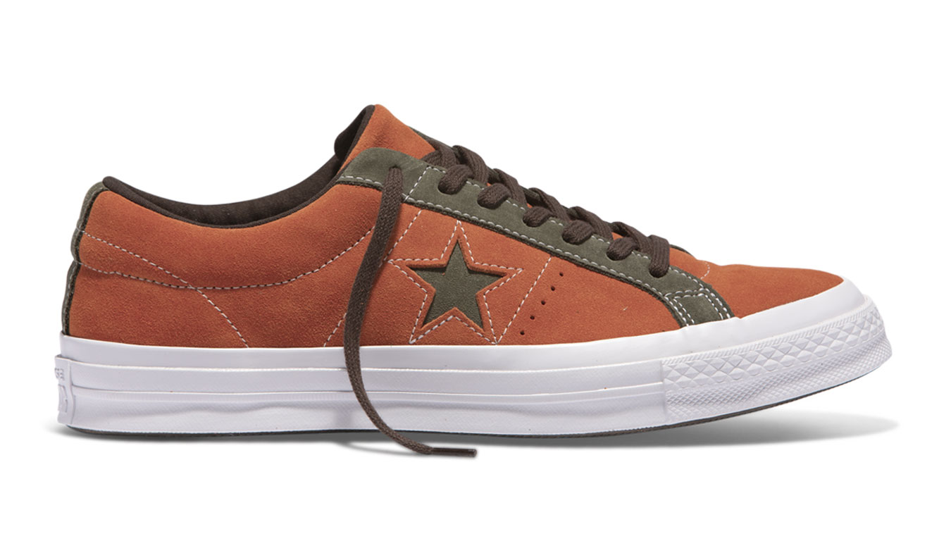 31b0e3041764b Converse One Star oranžové 161617C - vyskúšajte osobne v obchode