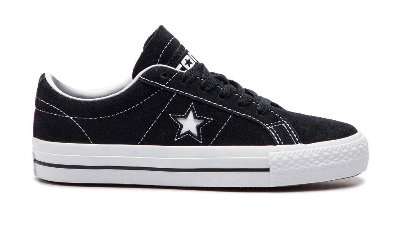 Converse One Star Pro OX BL čierne 159579C - vyskúšajte osobne v obchode