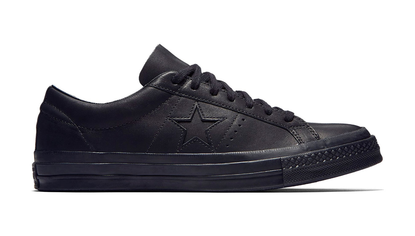 Converse One Star x Engineered Garments Leather  čierne 160280C