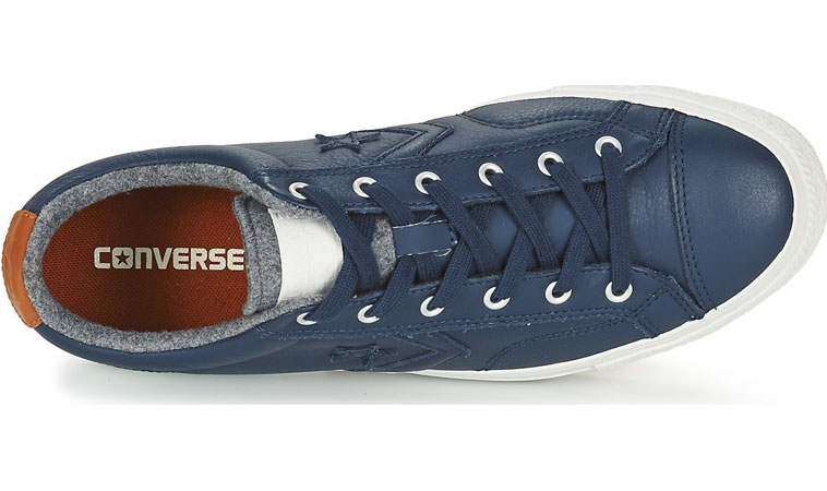 Converse Star Player Leather modré C153775 0e1f6131665