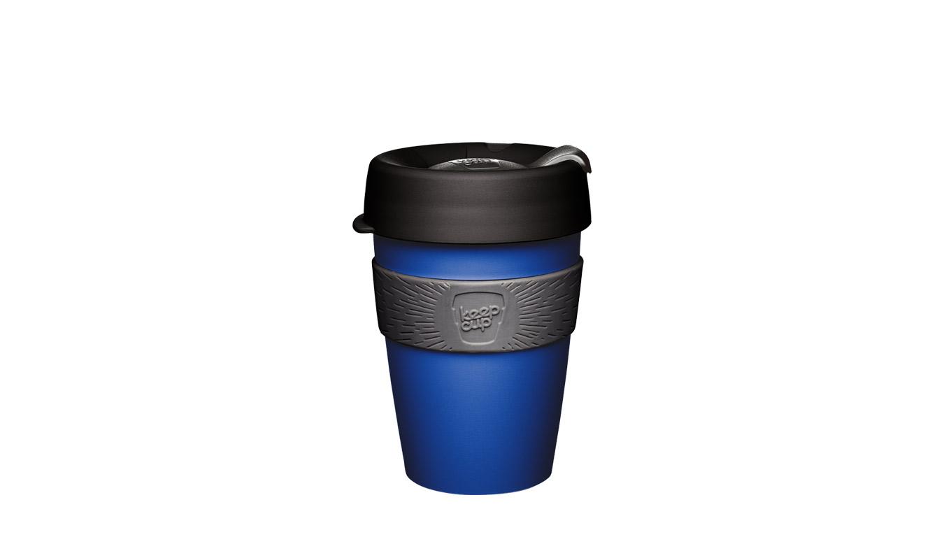 KeepCup Original M/12 oz modré CSHO12 - vyskúšajte osobne v obchode