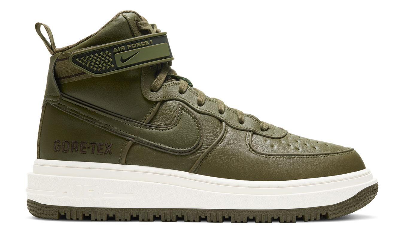 Nike Air Force 1 GTX Boot zelené CT2815-201 - vyskúšajte osobne v obchode