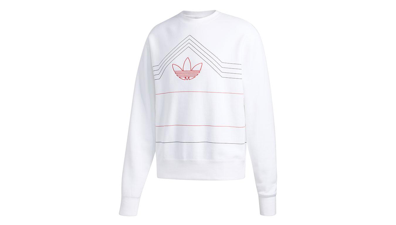 f35ebced2 Biele mikiny adidas Rivalry Crew Sweatshirt - 75€   ED5660   Shooos