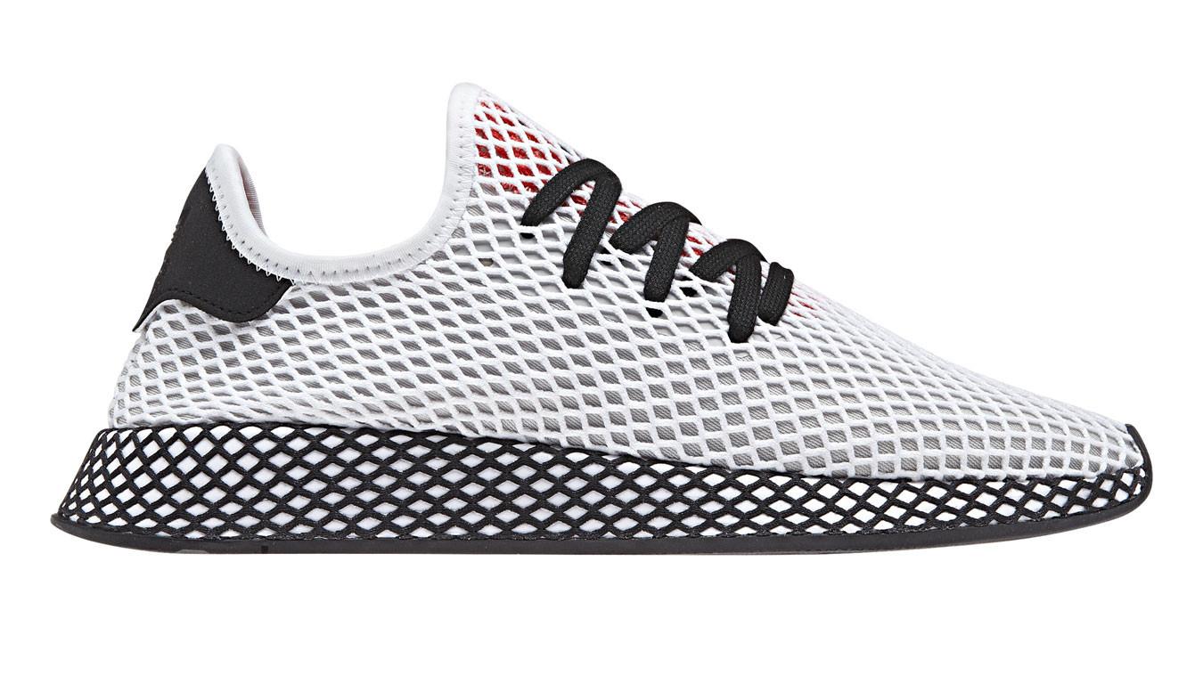 bd3b4c77fc7d3 Biele tenisky adidas Deerupt Runner Ftwr White - 85€ | DB2686 | Shooos