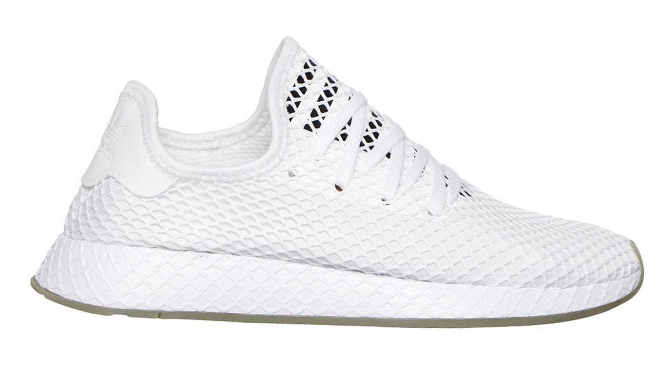 51a1d5342d17e adidas Deerupt Runner Triple White | biele | 100€ | Tenisky | EE5673 ...