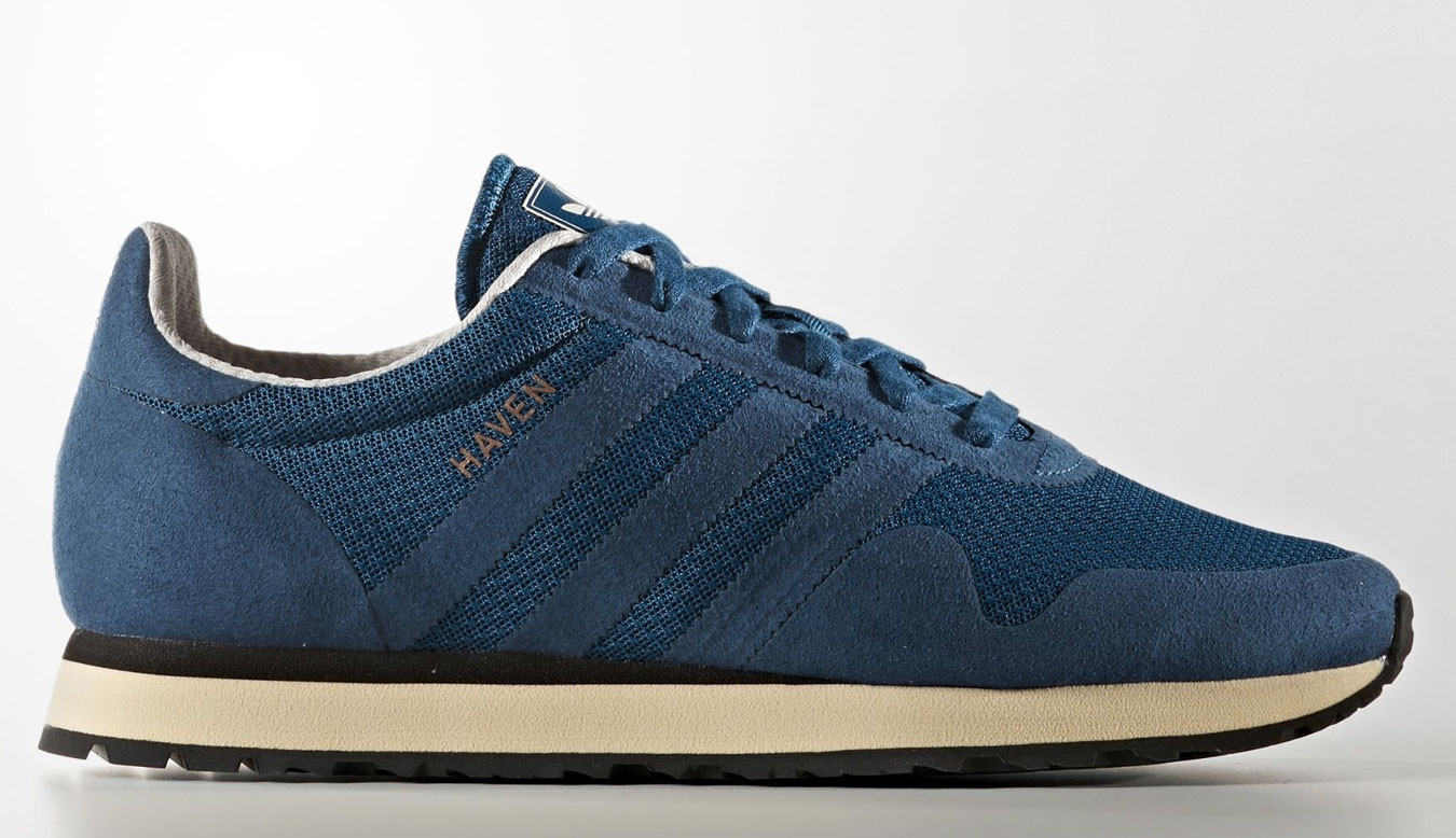 5f33202344e28 Modré tenisky adidas Haven - 54€ | BY9709 | Shooos