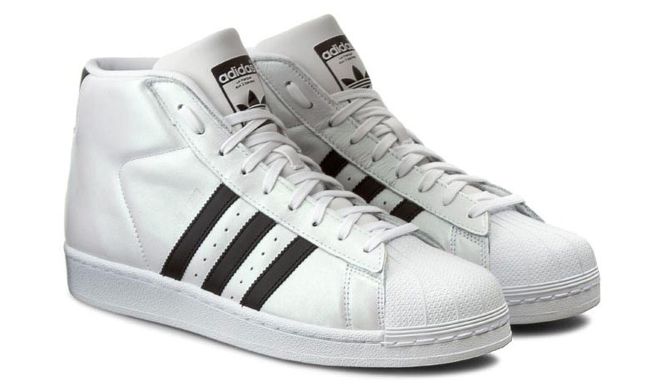 3915aba5ad2 Biele tenisky adidas Pro Model - 44€   S75851   Shooos