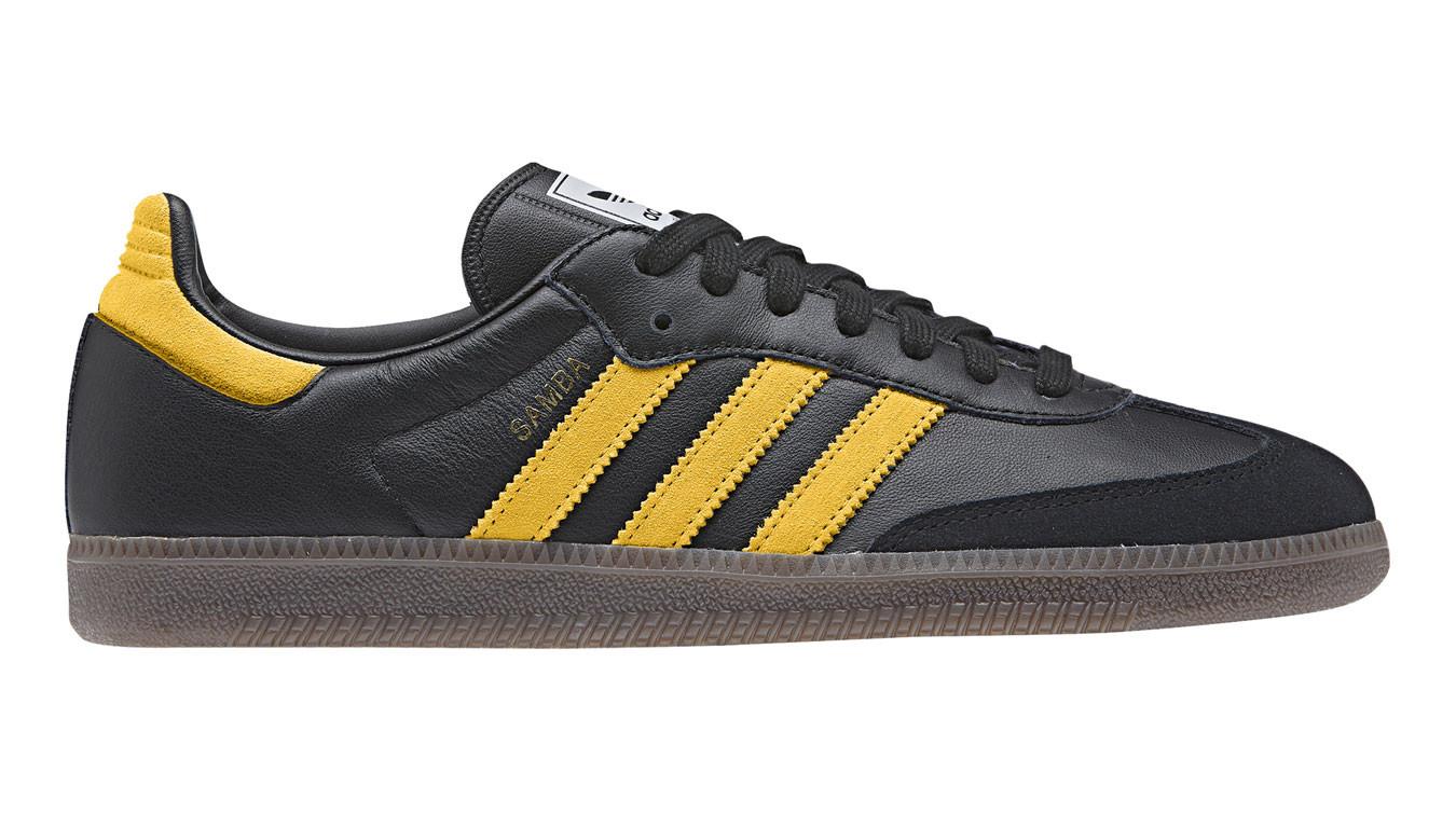 97c0947fe čierne tenisky adidas Samba OG Black Yellow - 54€ | B96324 | Shooos