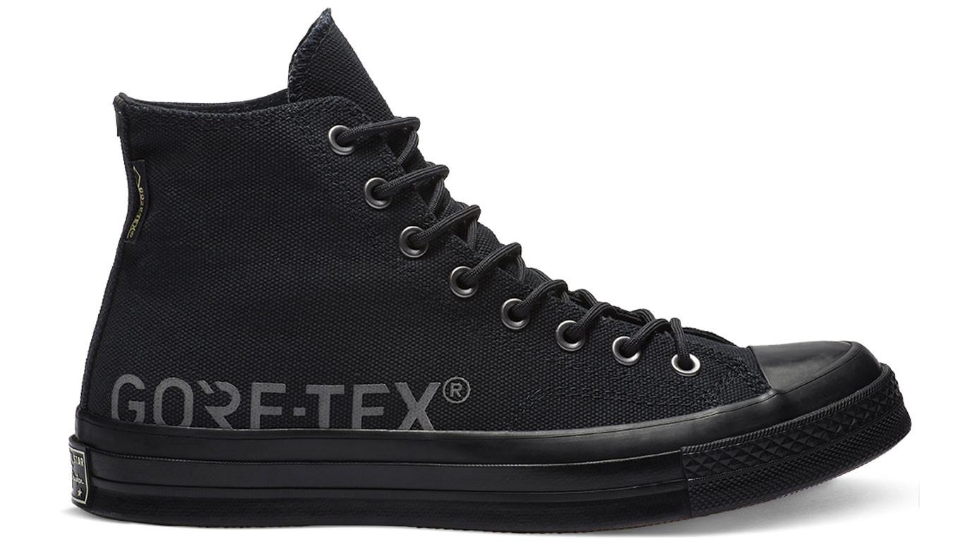 ca64bb0be07de čierne tenisky Converse Chuck 70 GORE-TEX® High Top - 90€ | 162350C ...