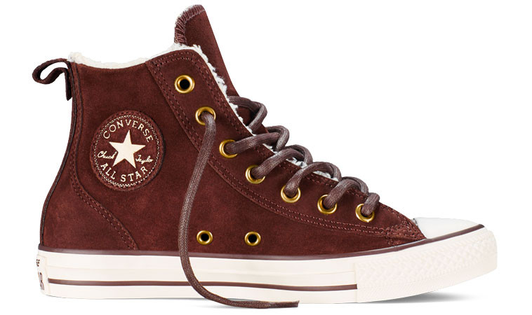 ffb0176be6dea Converse Chuck Taylor All Star Chelsee Material | hnedé | 48 ...