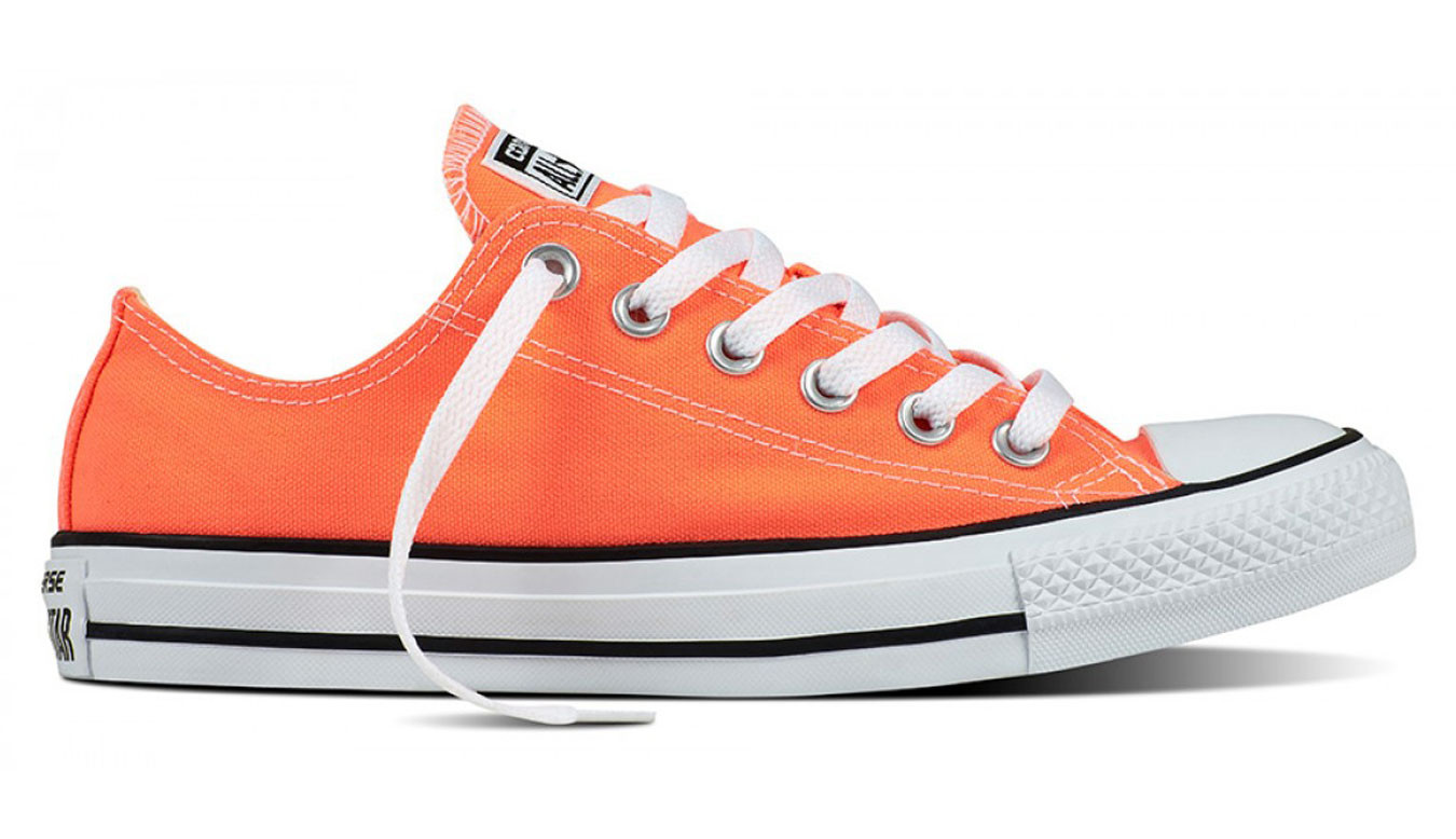 Converse Chuck Taylor All Star Fresh Colors Hyper Orange C155736 89dddfd12ce