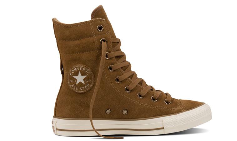 28ae4ec1473da Converse Chuck Taylor All Star Hi Rise Boot | hnedé | 80€ | Tenisky ...