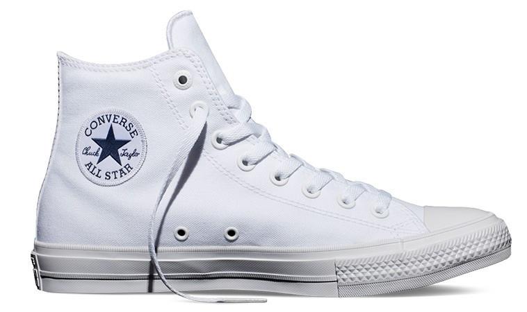 0d1a04828 Biele tenisky Converse Chuck Taylor All Star II - 72€   150148C   Shooos