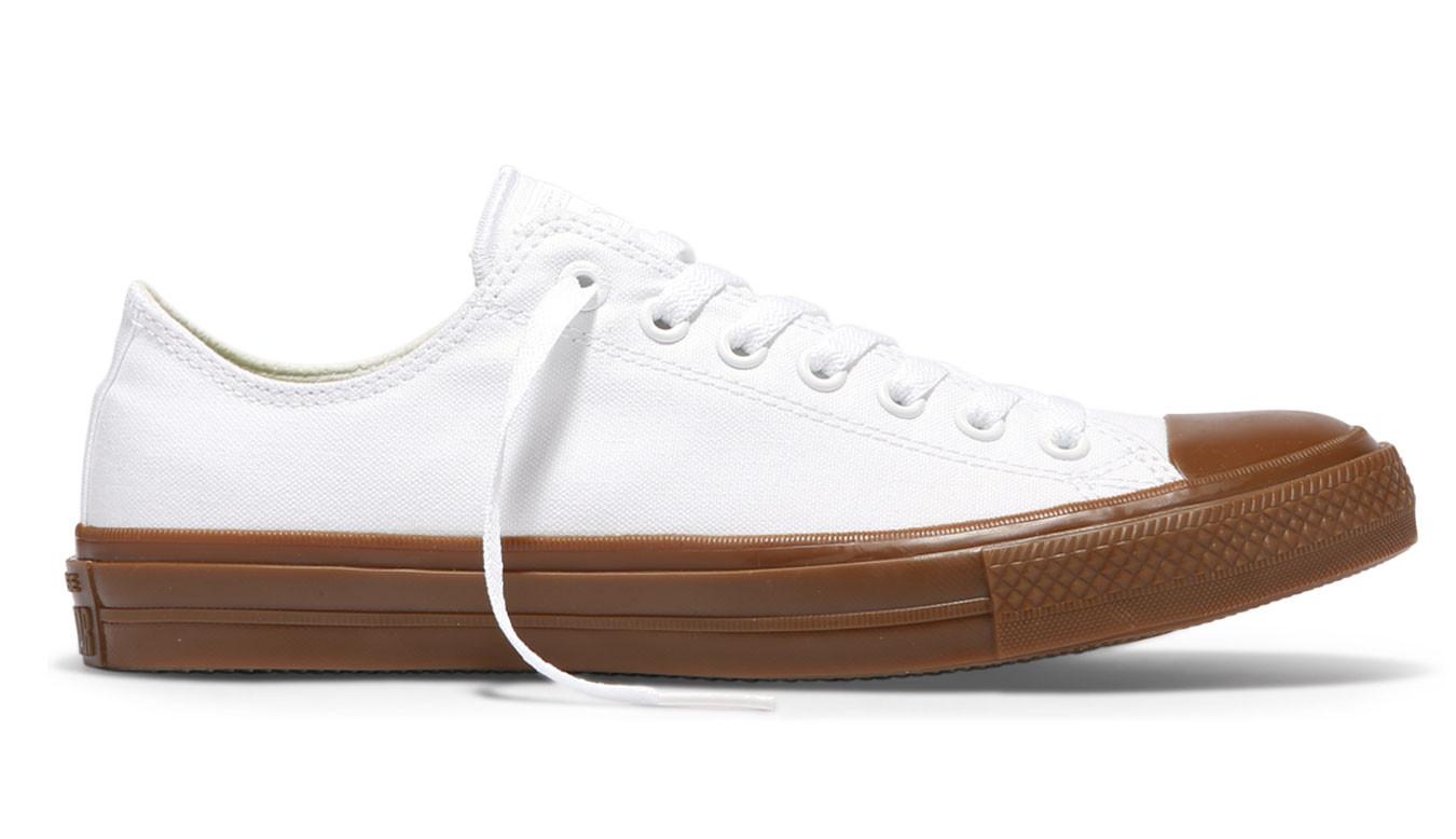 Converse Chuck Taylor All Star II Gum Low Top White C155502 a1b26a6f717