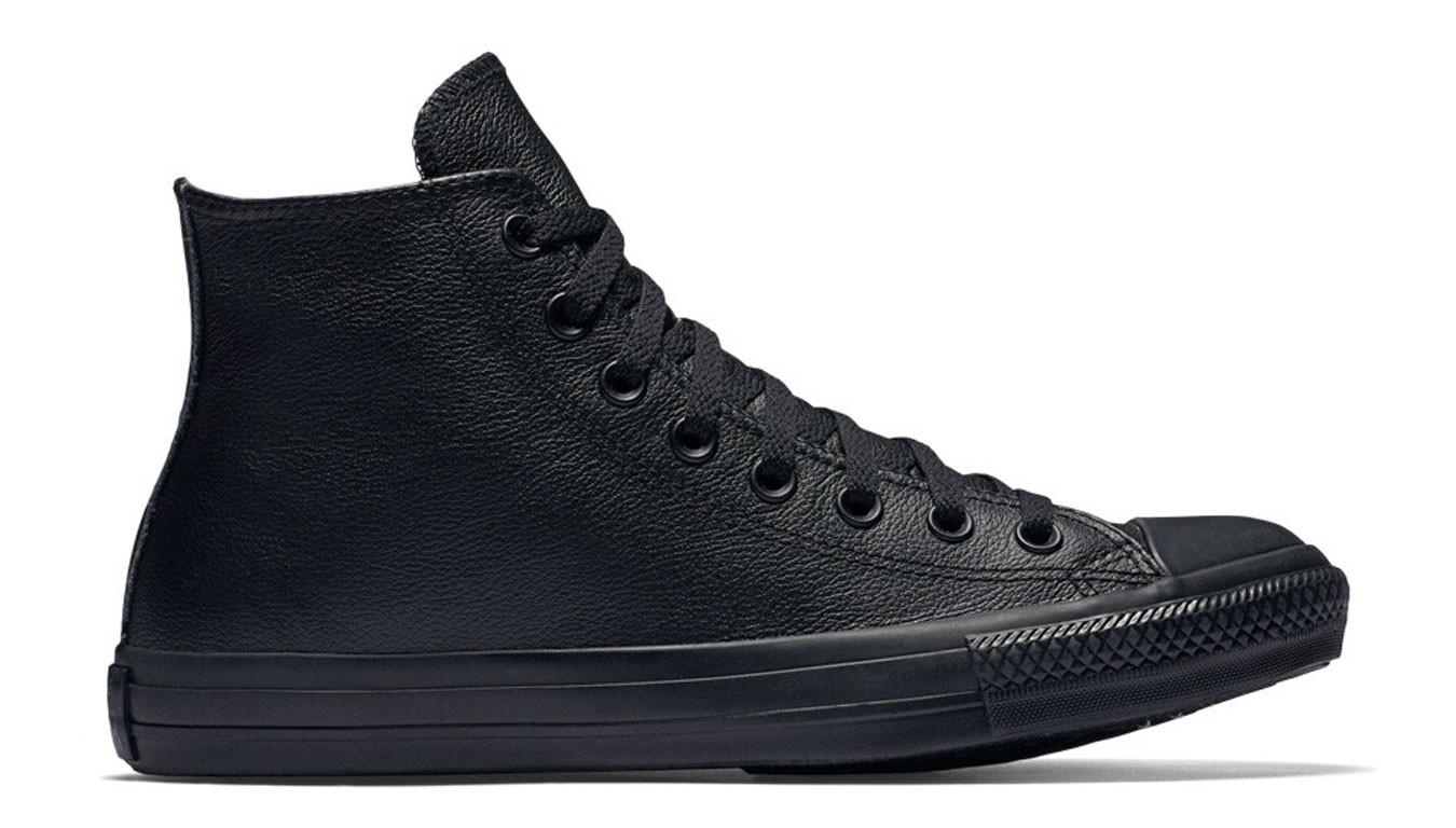 02ae4debe5762 čierne tenisky Converse Chuck Taylor Mono Leather - 68€ | 135251C ...