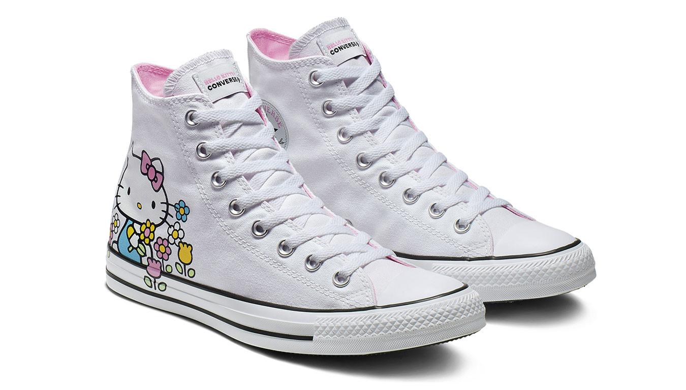 373bda549 Biele tenisky Converse Chuck Taylor x Hello Kitty pack - 53 ...