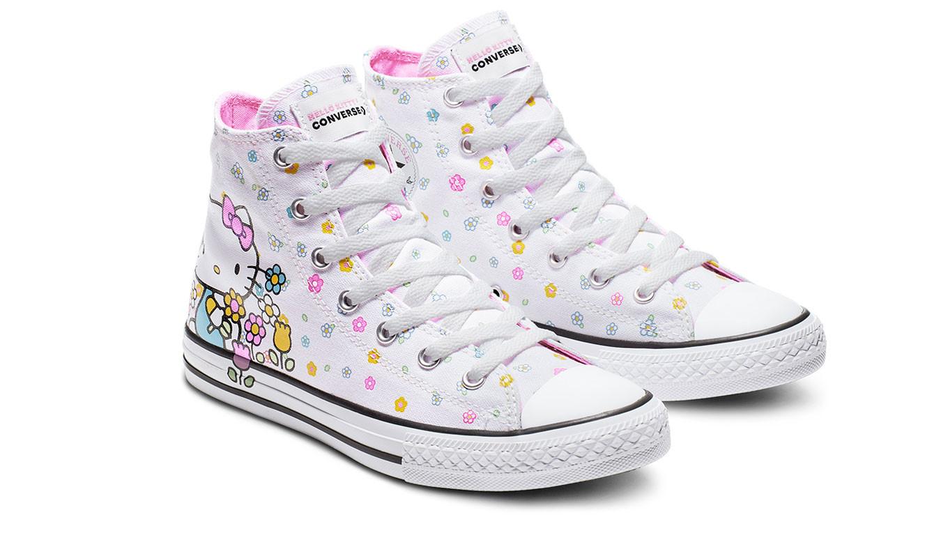 a880f86fcd021 Converse Chuck Taylor x Hello Kitty pack   biele   32€   Tenisky ...