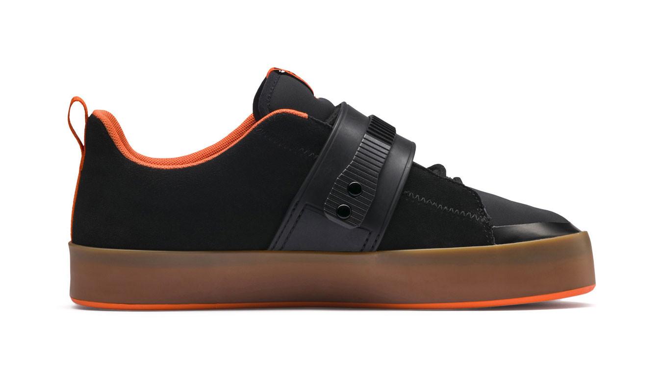 9ca22102b5e1 PUMA x ATELIER NEW REGIME Court Platform Brace Sneakers