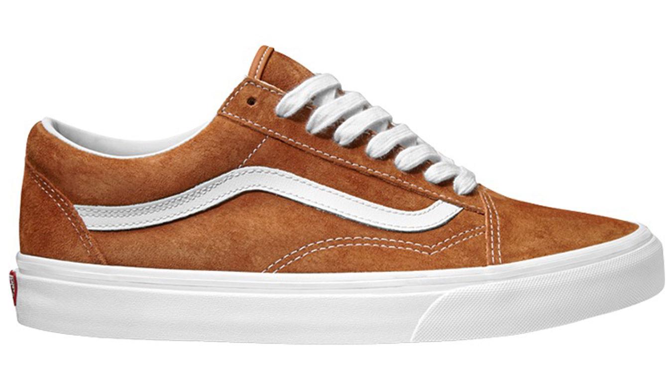 Vans Old Skool Leather Brown VN0A38G1U5K1 82c10b2751