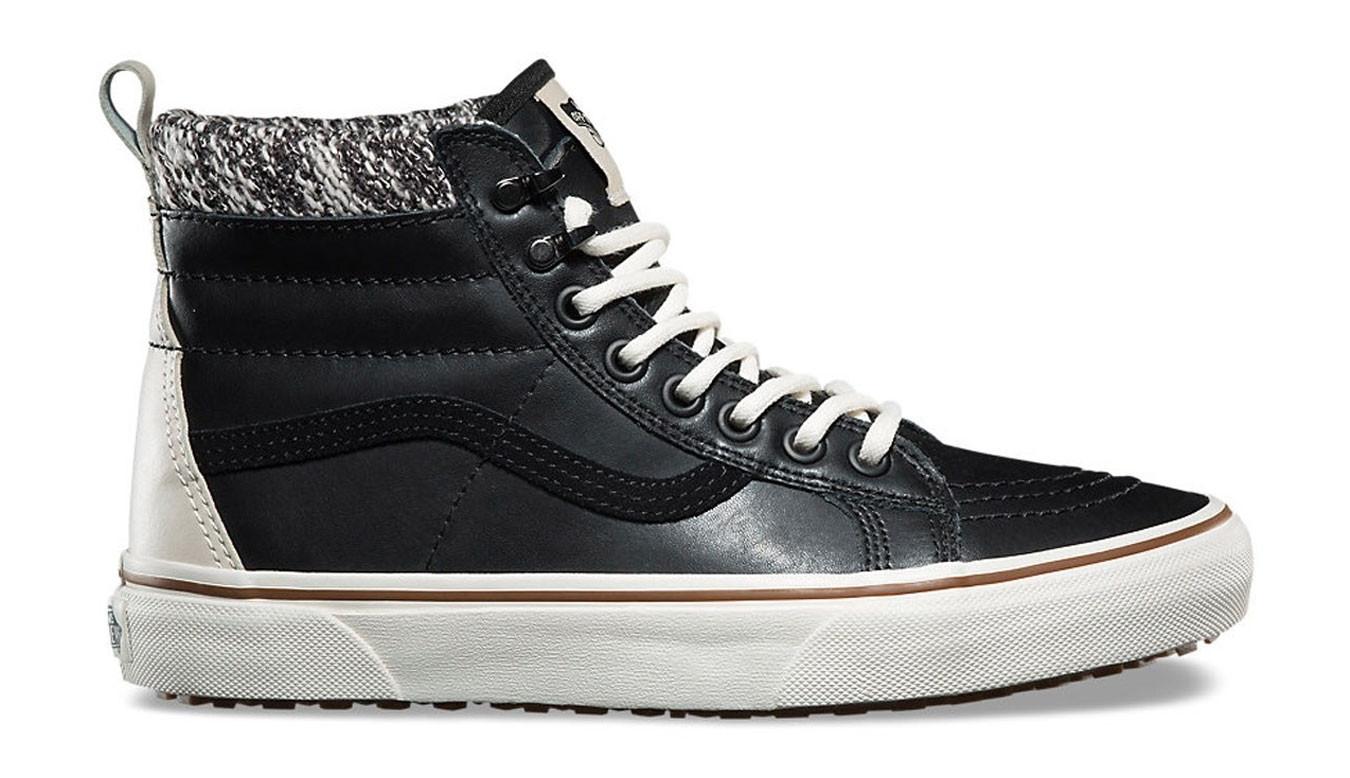 a07e0c2df4273 Vans SK8-Hi MTE Black Leather | čierne | 74€ | Tenisky | VA33TXI28 ...