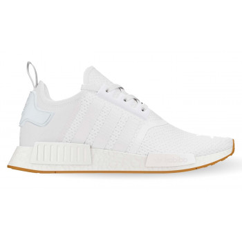 "adidas NMD R1 ""Gum Sole"" Triple White"