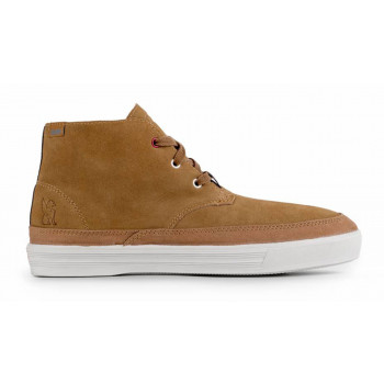 d39278caf363 SALE Chrome Industries Forged Suede Chukka Boot Golden Brown Off White