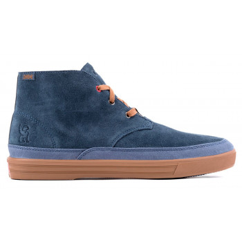40d9065bd4 SALE Chrome Industries Forged Suede Chukka Boot Indigo Golden Brown