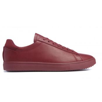 Clae Bradley Merlot Full Grain Leather
