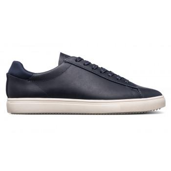 Clae Bradley Navy Full Grain Leather