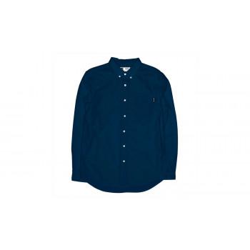Dedicated Shirt Varberg Oxford Navy