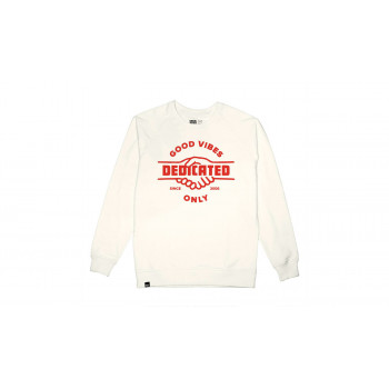 Dedicated Sweatshirt Malmoe Good Hands Off-White
