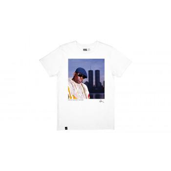 Dedicated T-shirt Stockholm Biggie White