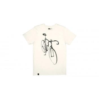 Dedicated T-shirt Stockholm Drawn Bike Off-White