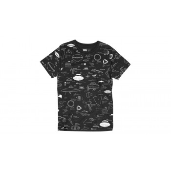 Dedicated T-shirt Stockholm Space Crafts Charcoal