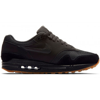 Nike Air Max 1 Black/Black-Black-Gum Med Brown AH8145-007