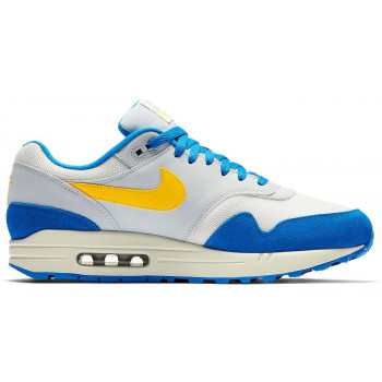 Nike Air Max 1 Sail/Amarillo-Pure Platinum-Signal Blue AH8145-108