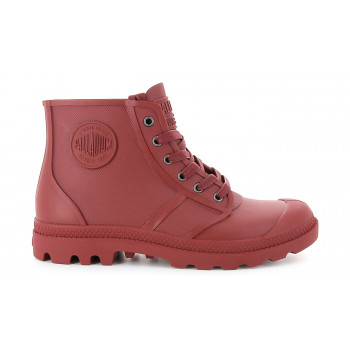 Palladium Boots Pampa Hi Rain Rio Red