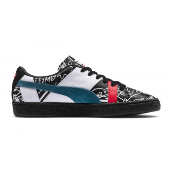 Puma x SHANTELL MARTIN Basket Graphic Sneakers